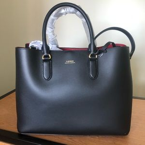 NWT Ralph Lauren Leather Tote